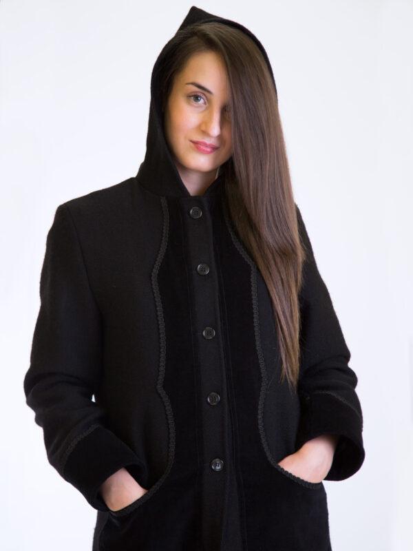 Cappotto Gabbanedda da donna in orbace